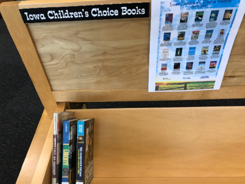 HMS Iowa Children's Choice Award Books 2018-19