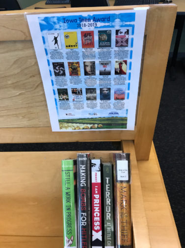 HMS Iowa Teen Award Books 2018-19