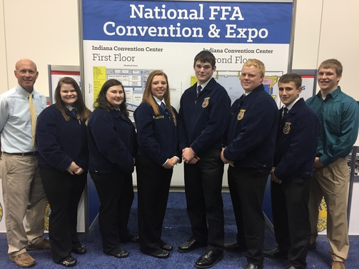 National FFA Convention in Indianapolis in October.